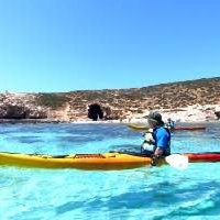 blue lagoon kayaking