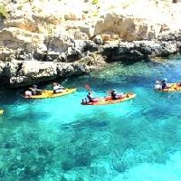 kayaking Gozo north-coast